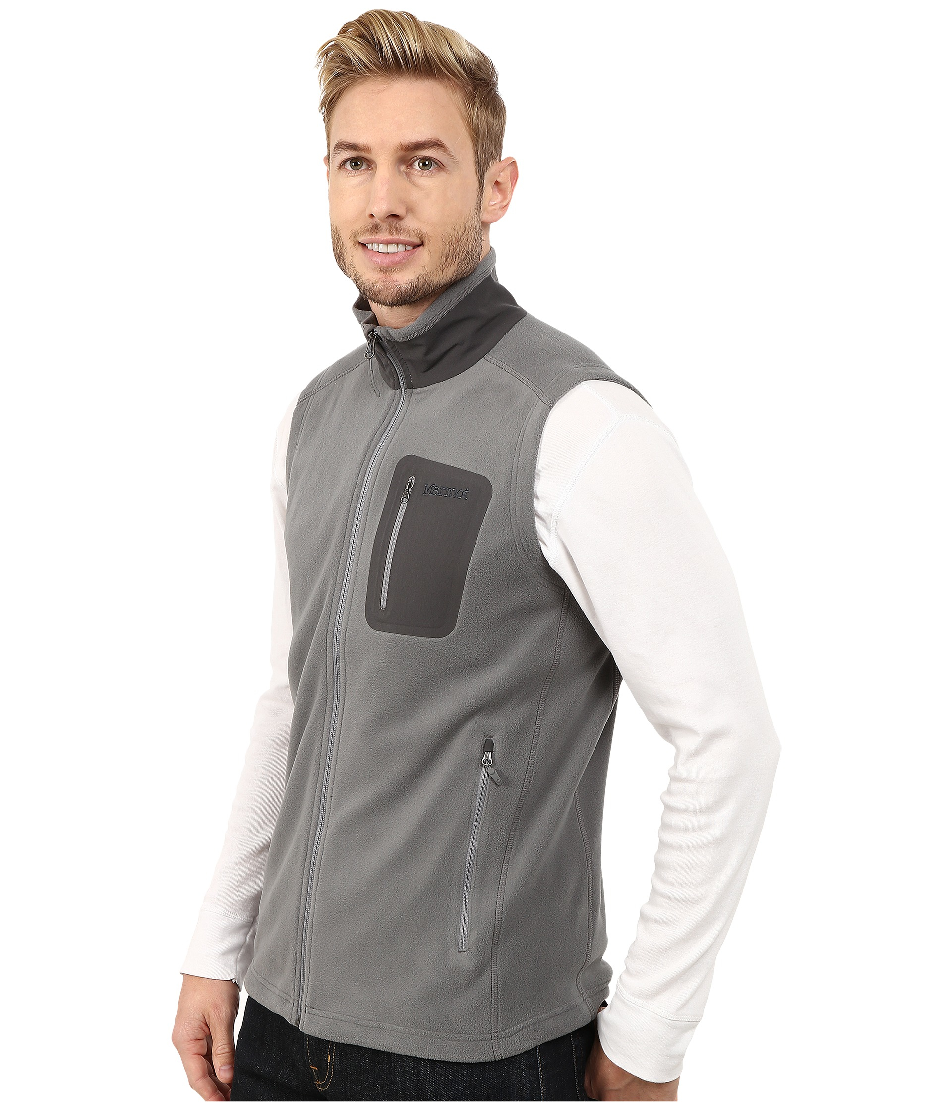 f26bba694 Lyst - Marmot Reactor Vest in Gray for Men