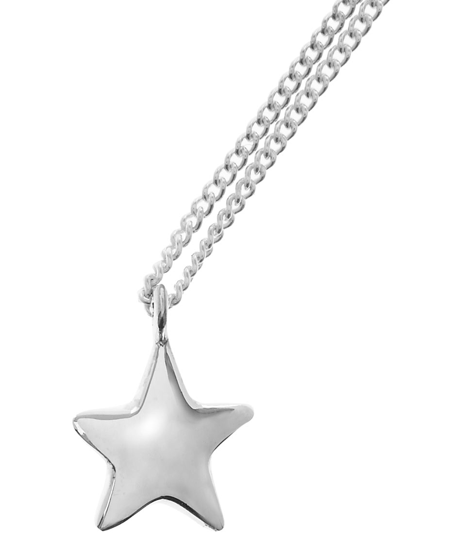Lyst dinny hall silver signature star pendant necklace in metallic gallery aloadofball Image collections