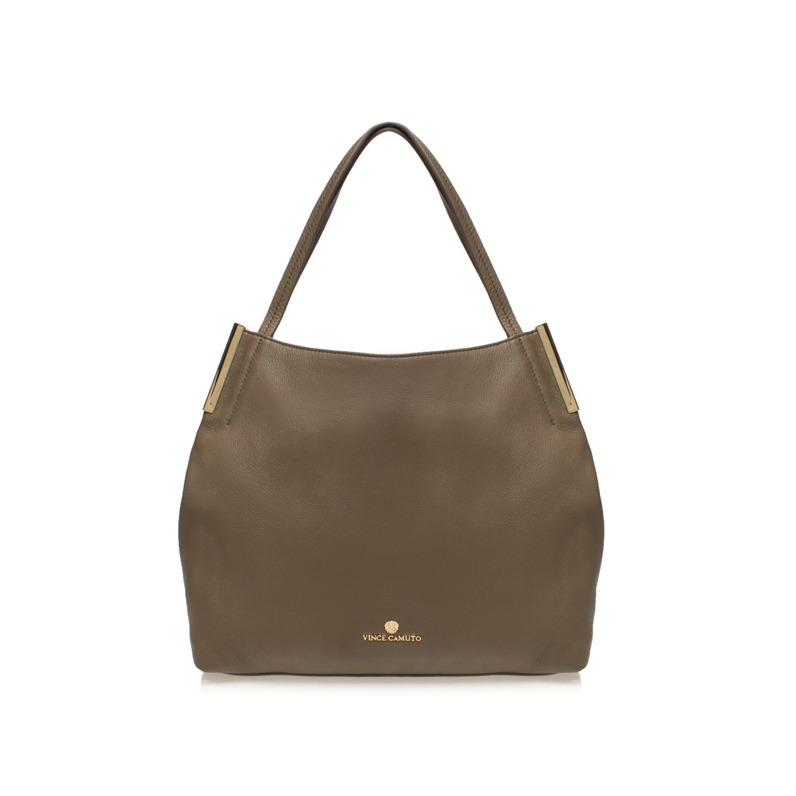 Vince Camuto Tina Tote Bag In Brown Taupe Lyst