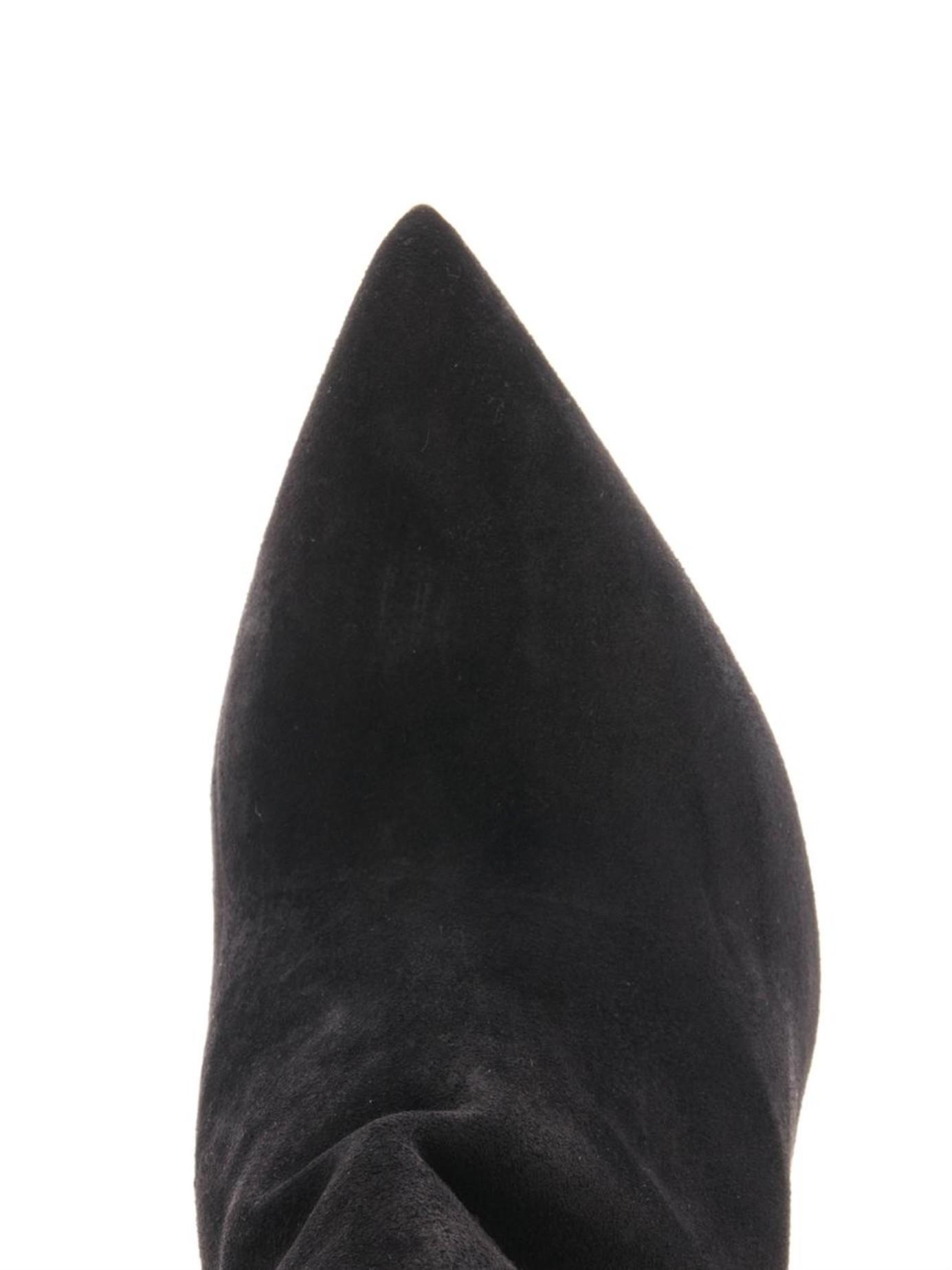 Lyst Saint Laurent Paris Western Suede Ankle Boots In Black