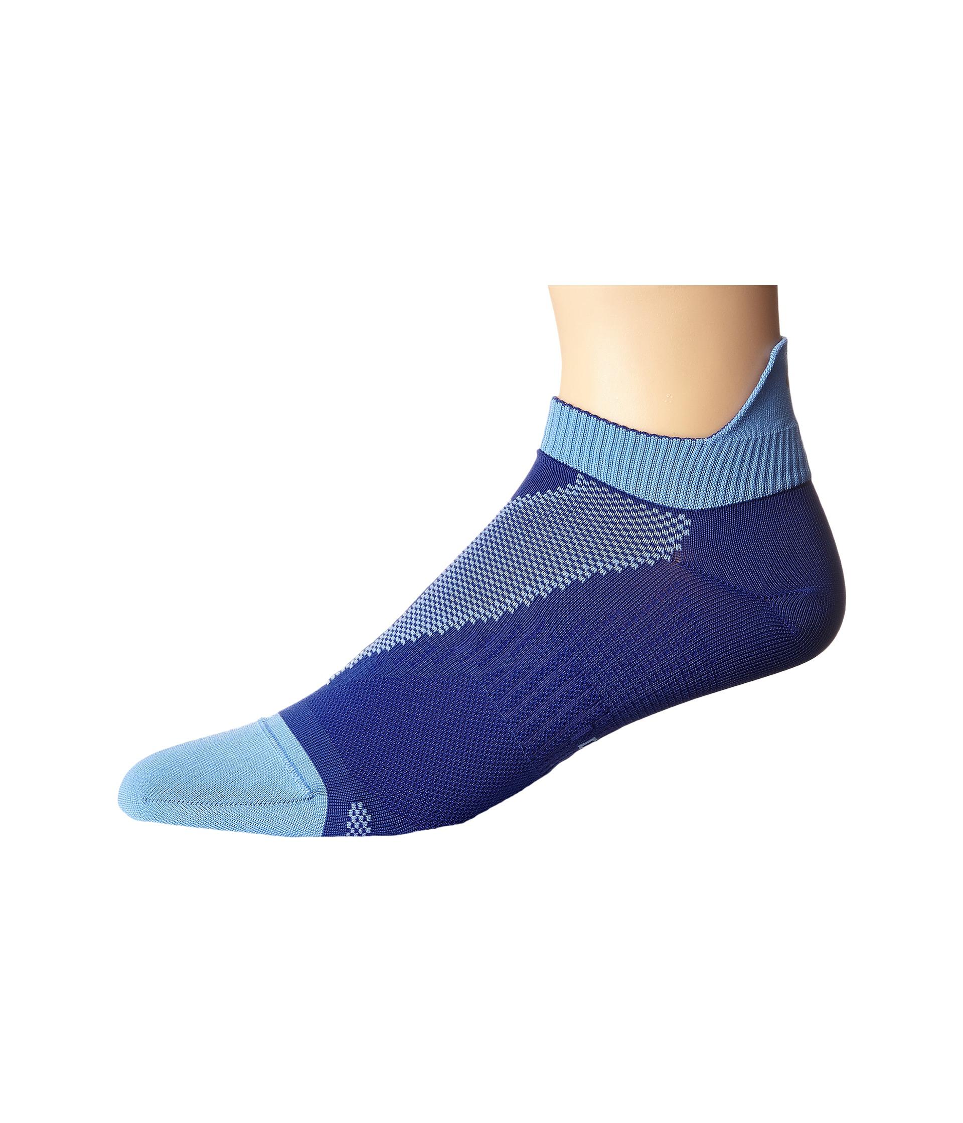 Nike Elite Lightweight Quarter Deep Night/Chalk Blue Running Socks