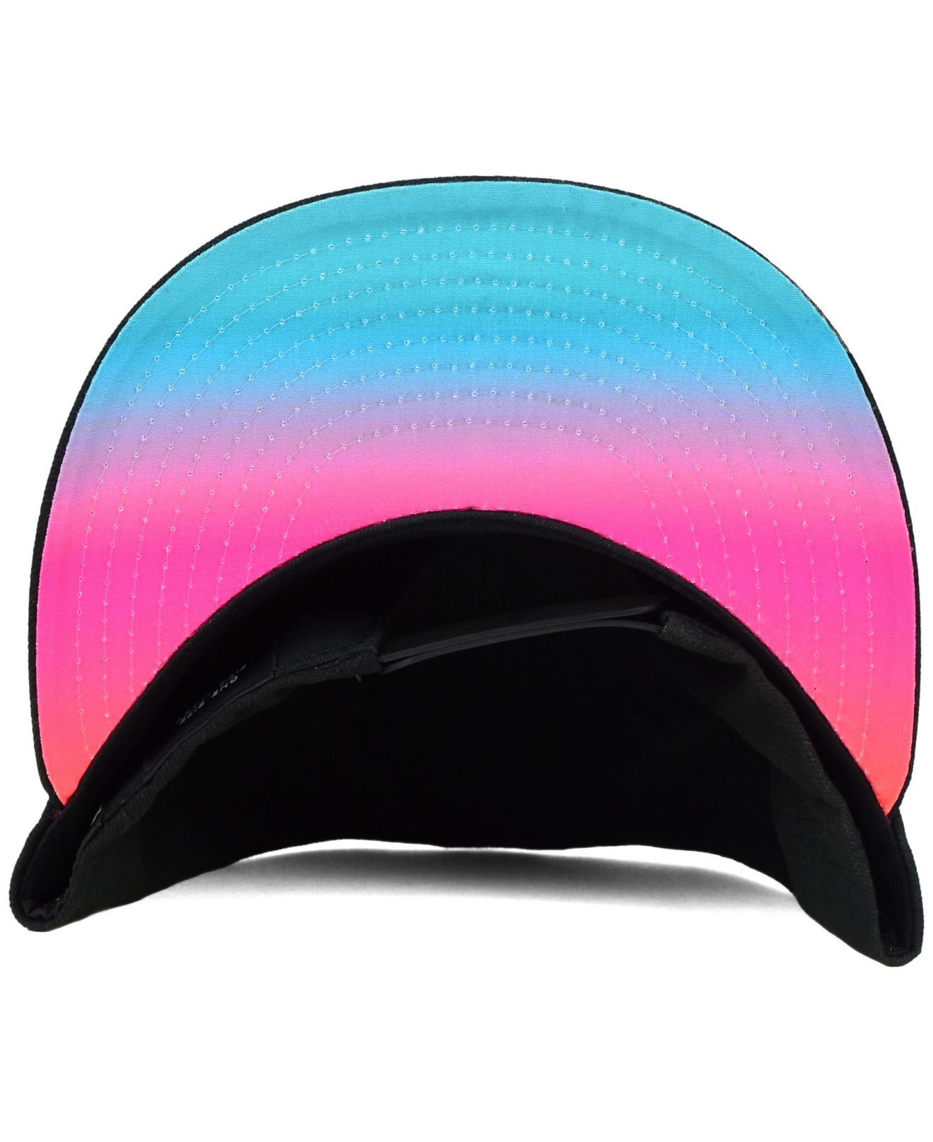 6181be2d99f ... wholesale lyst ktz san antonio spurs fade to script 9fifty snapback cap  in black for men