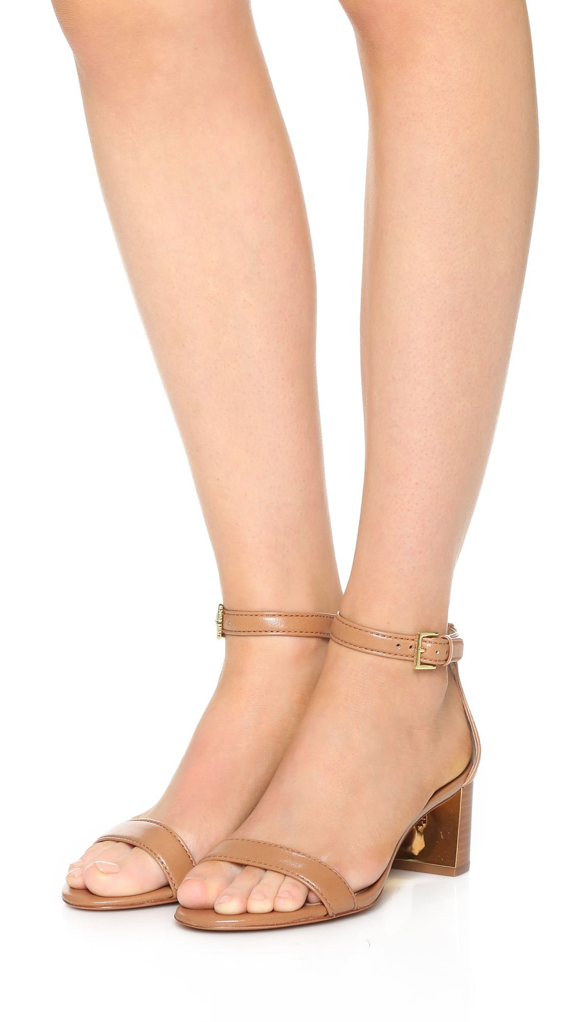 e92257d6fc16 Lyst - Tory Burch Cecile City Sandals in Natural