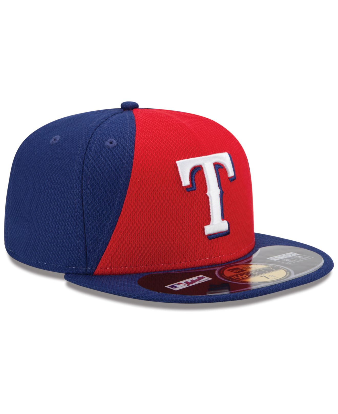 quality design e1a2a 76157 KTZ Texas Rangers 2014 All Star Game Patch 59Fifty Cap in Red for ...