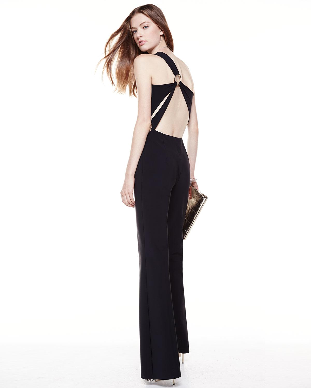 La Petite Robe Di Chiara Boni One Shoulder Jumpsuit With