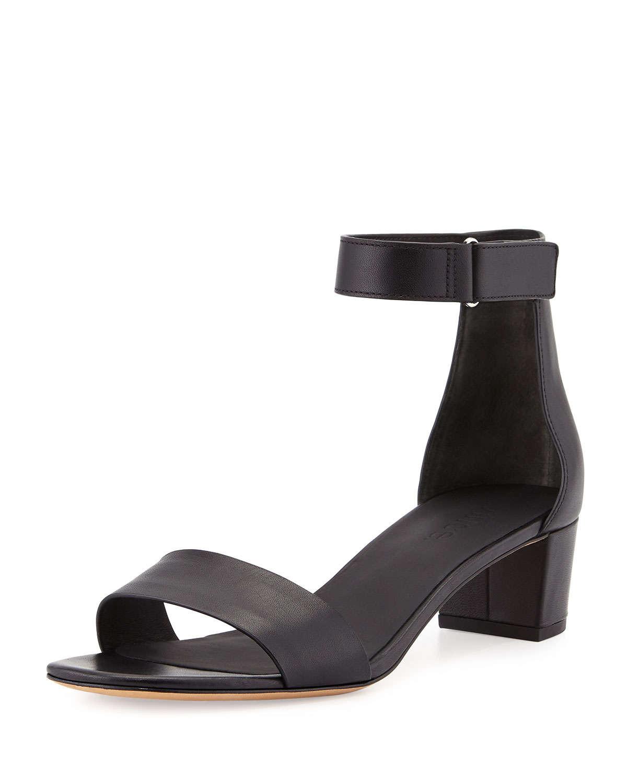 Lyst Vince Rita Block Heeled Sandals In Black