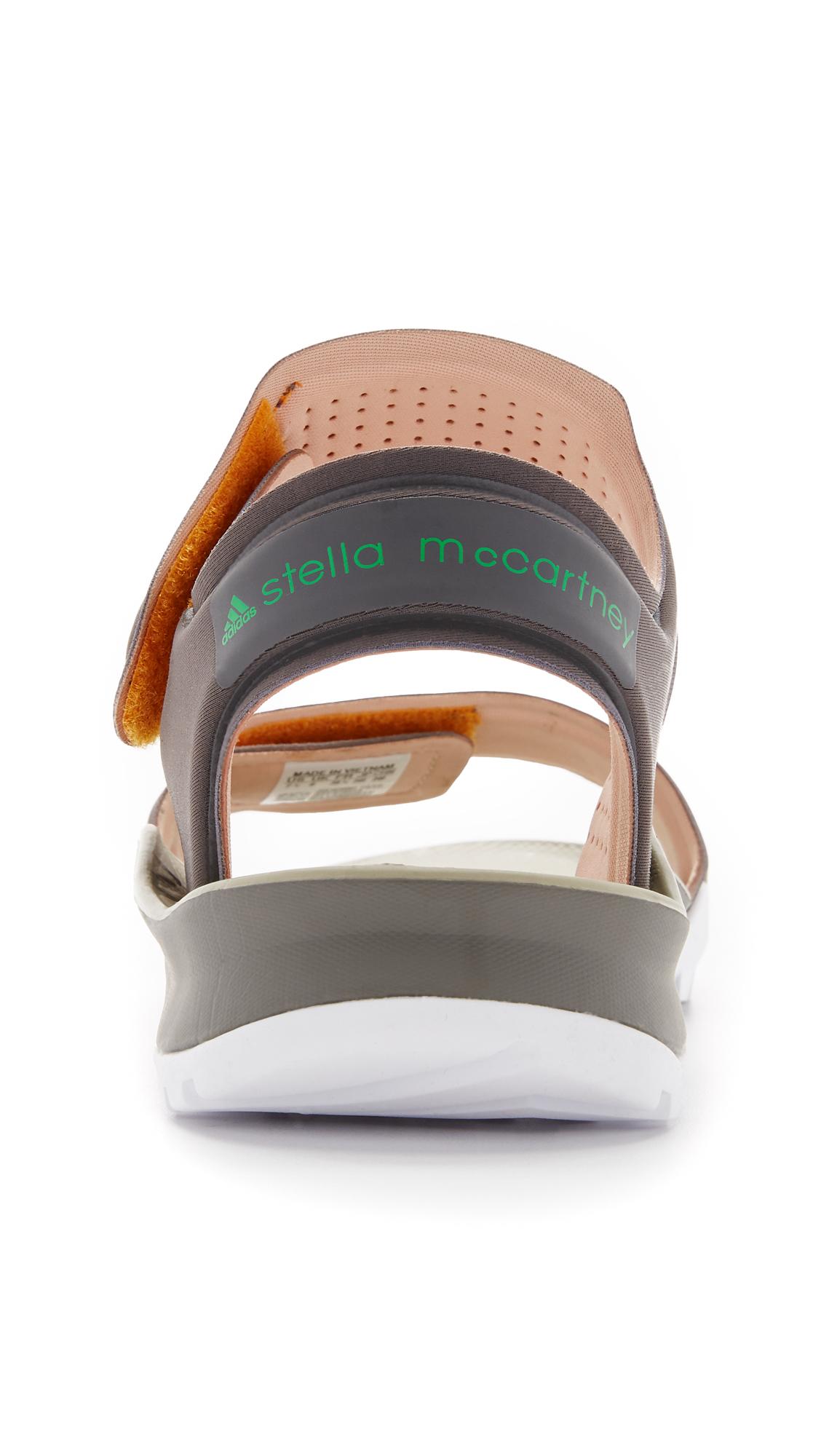 42819e041e18 Lyst - adidas By Stella McCartney Hikira Sandals in Gray
