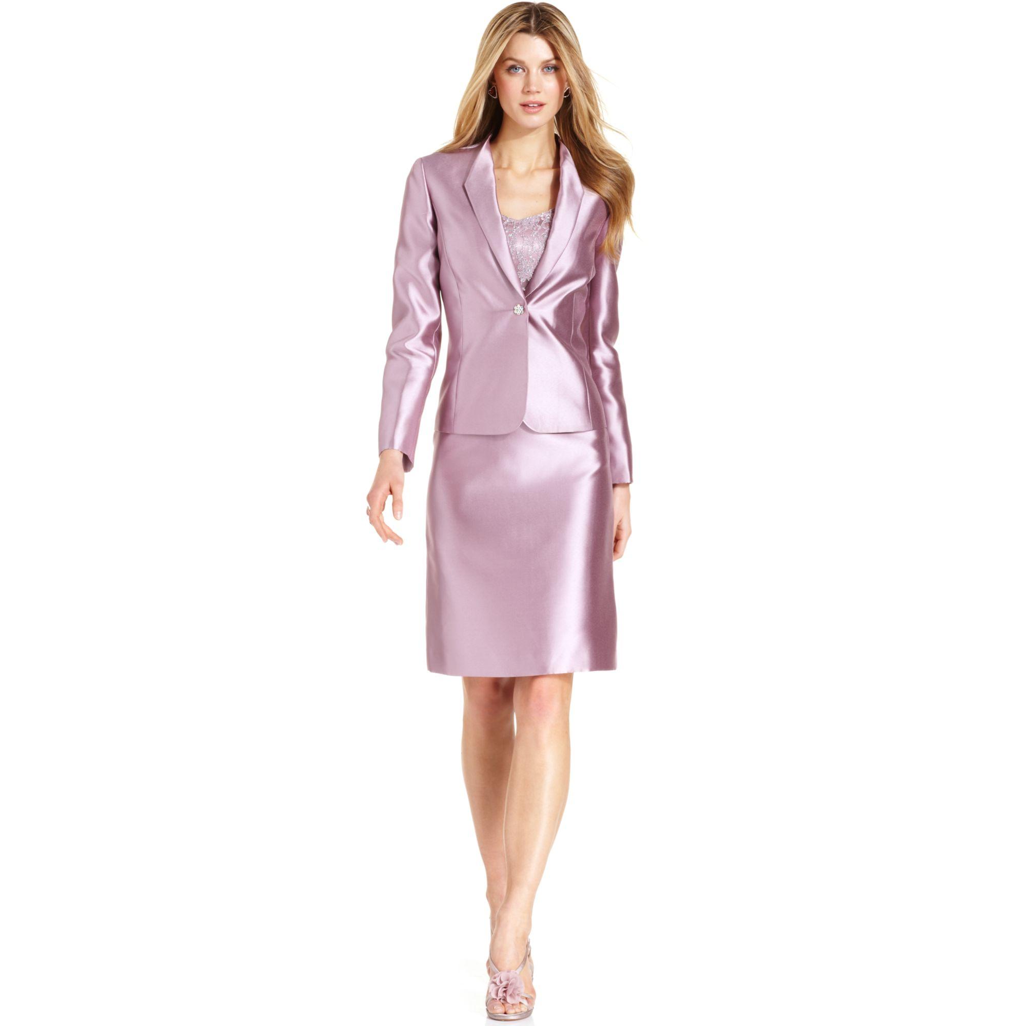 18ba798ac73a Tahari By Asl Skirt Suit in Purple - Lyst