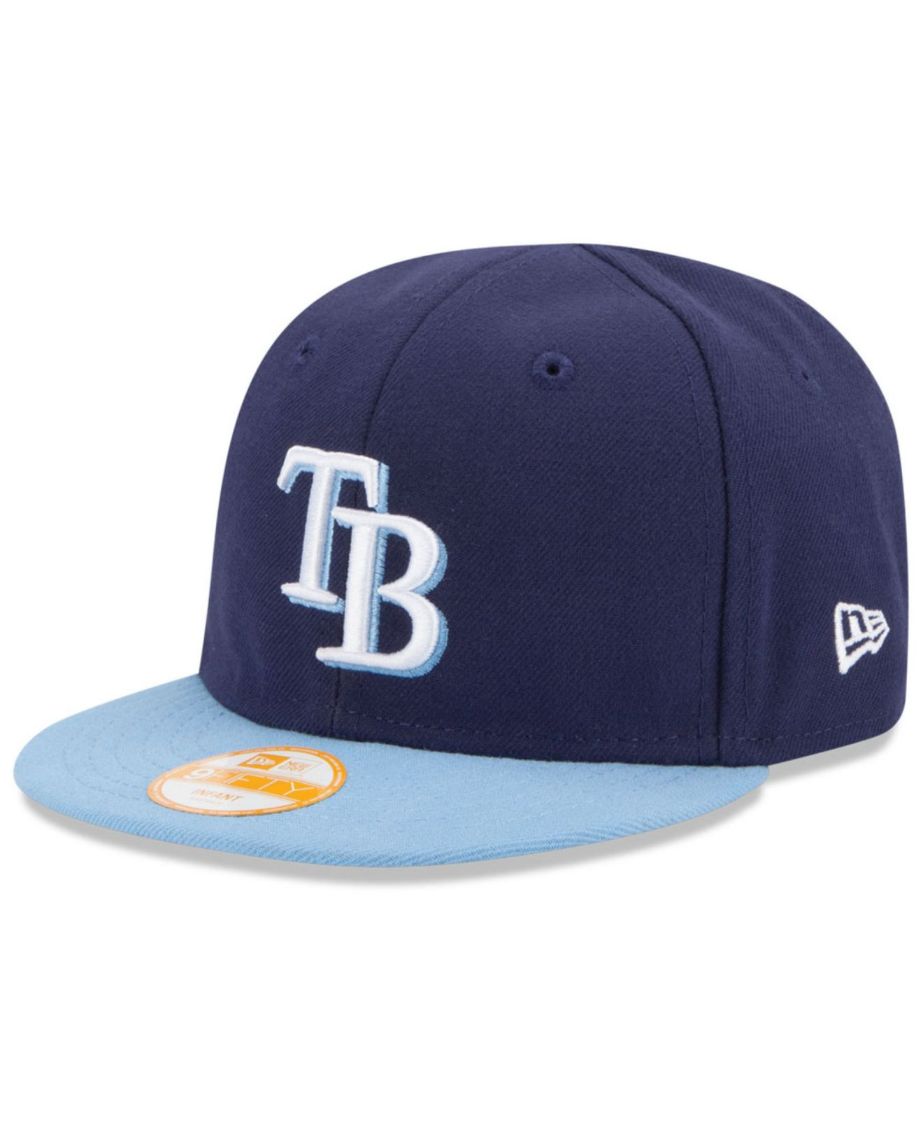 check out 16587 b776d Lyst - KTZ Babies  Tampa Bay Rays 9fifty Snapback Cap in Blue