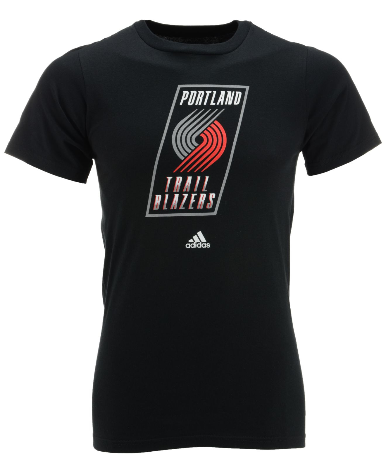 Portland Trail Blazers T Shirt: Adidas Originals Men's Short-sleeve Portland Trail Blazers