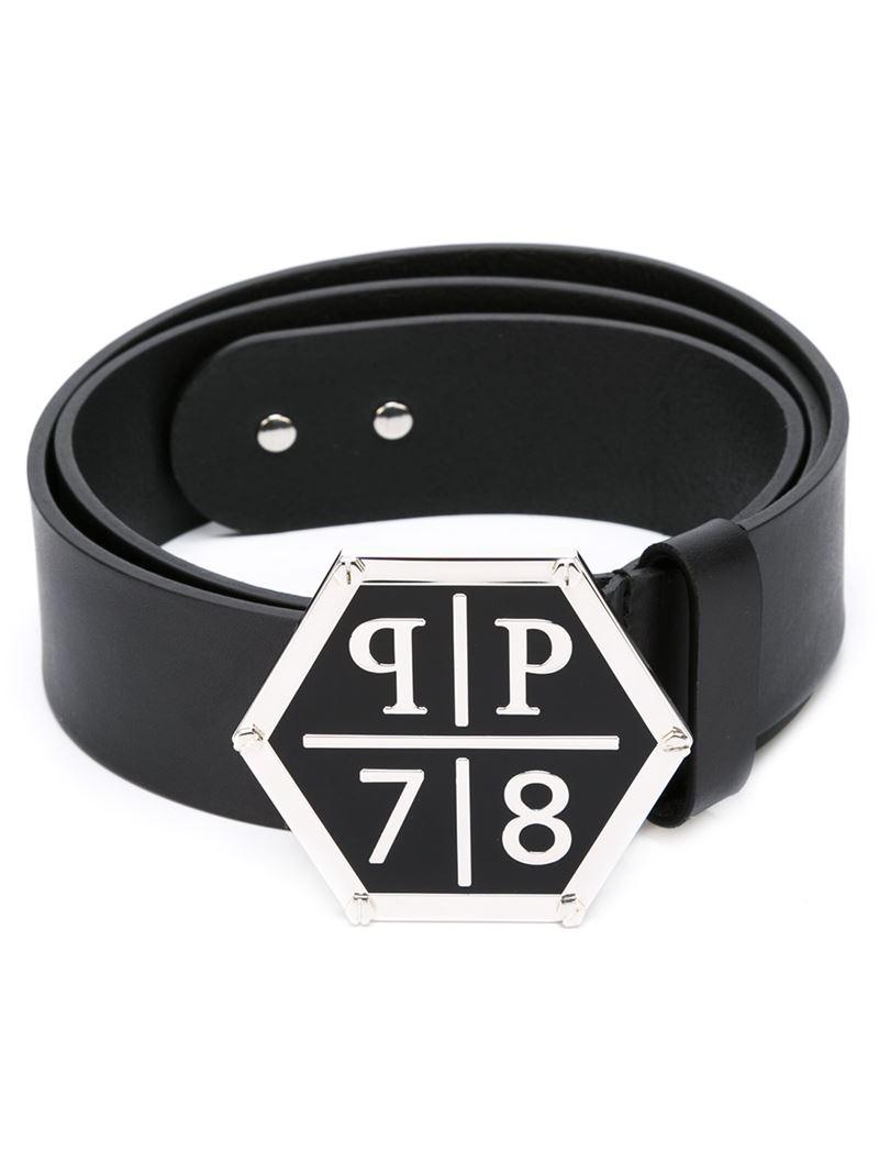 Lyst Philipp Plein The Outsider Belt In Black For Men