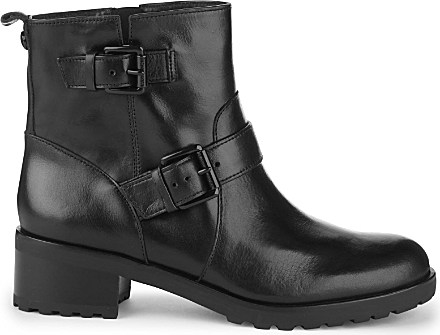 Lyst Michael Michael Kors Gretchen Leather Ankle Boots