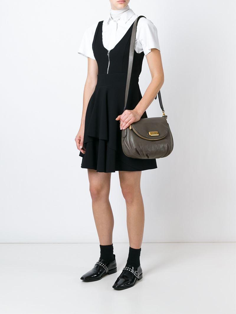 43fad37b6758 Lyst - Marc By Marc Jacobs  Classic Q Natasha  Cross Body Bag in Gray