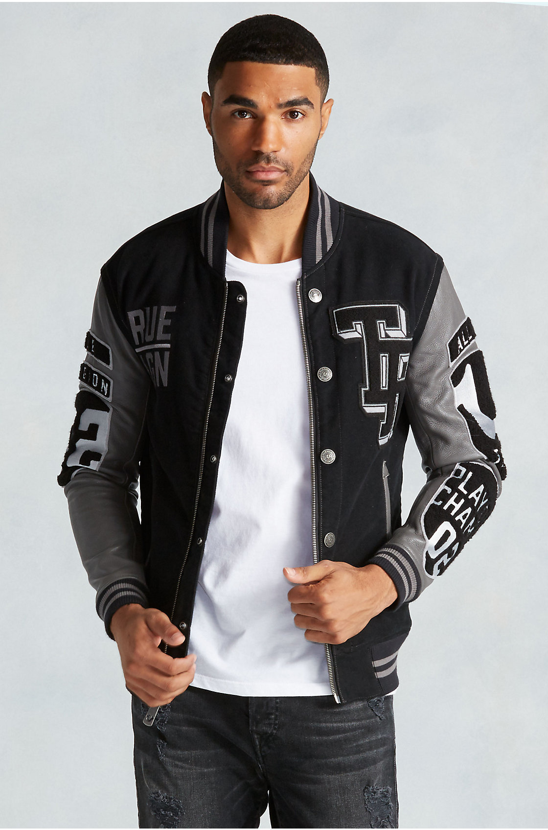 Mens Varsity Jackets. Looking to infuse your cold-weather style with a sporty, collegiate look? Check out our great selection of men's varsity jackets.