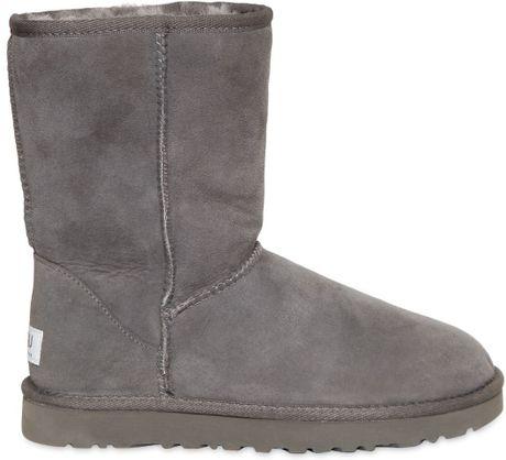 ugg classic short grey sale