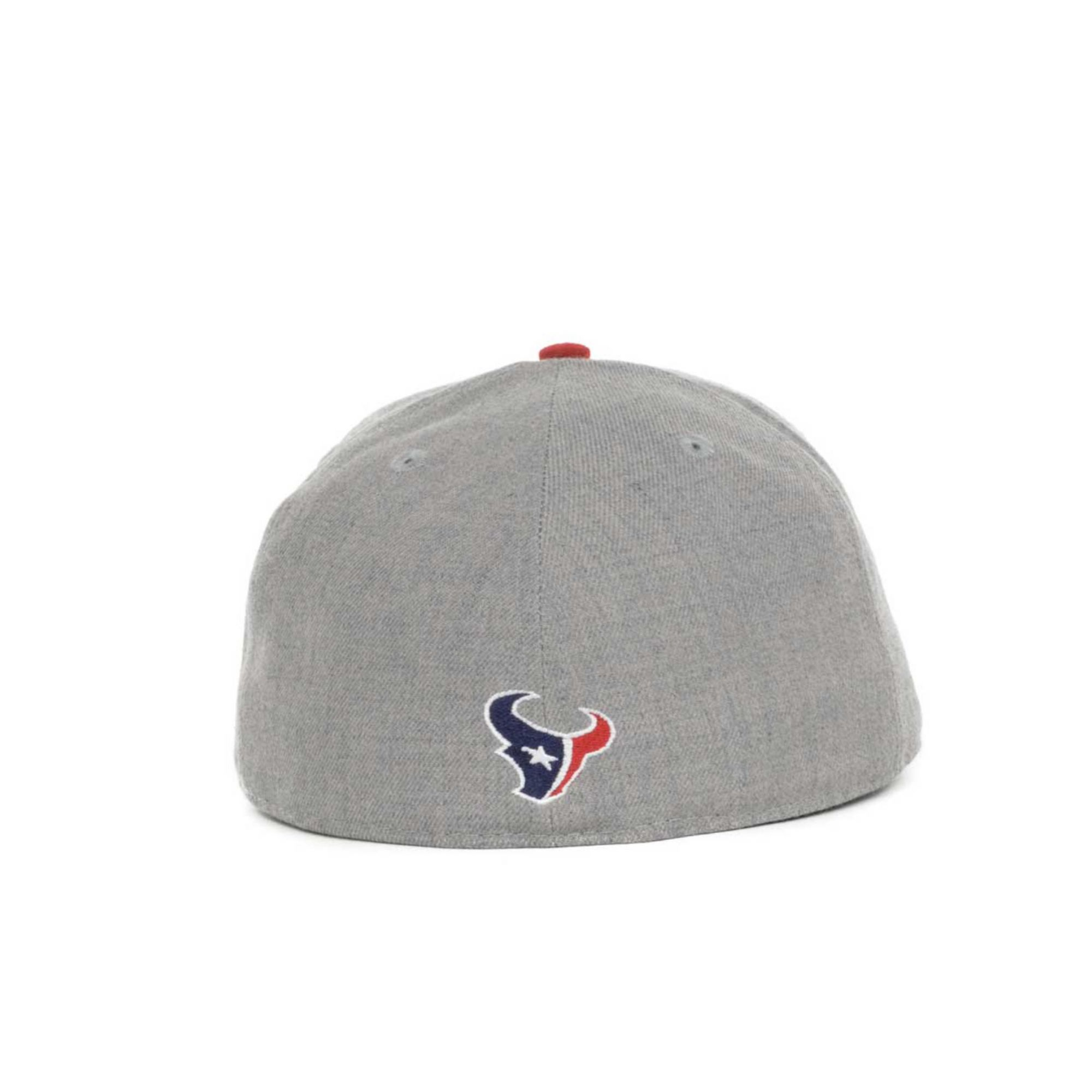 ae83669760c czech lyst ktz houston texans nfl team screening 59fifty cap in gray for men  3e7f9 a8911