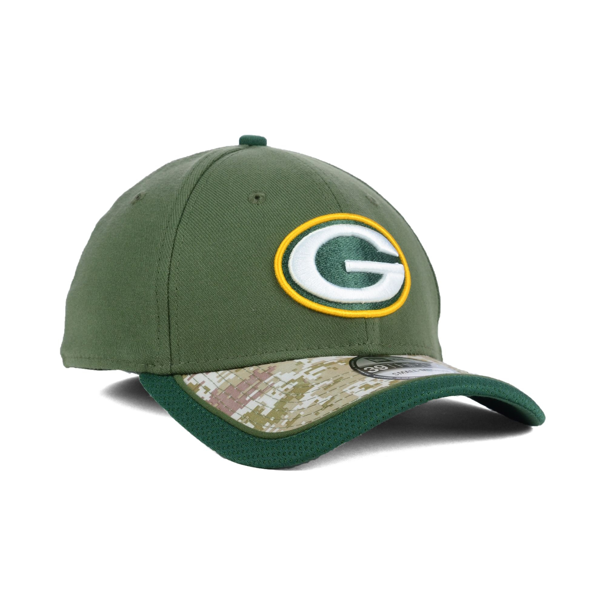c124e2fbd Lyst - KTZ Green Bay Packers Salute To Service 39thirty Cap in Green ...