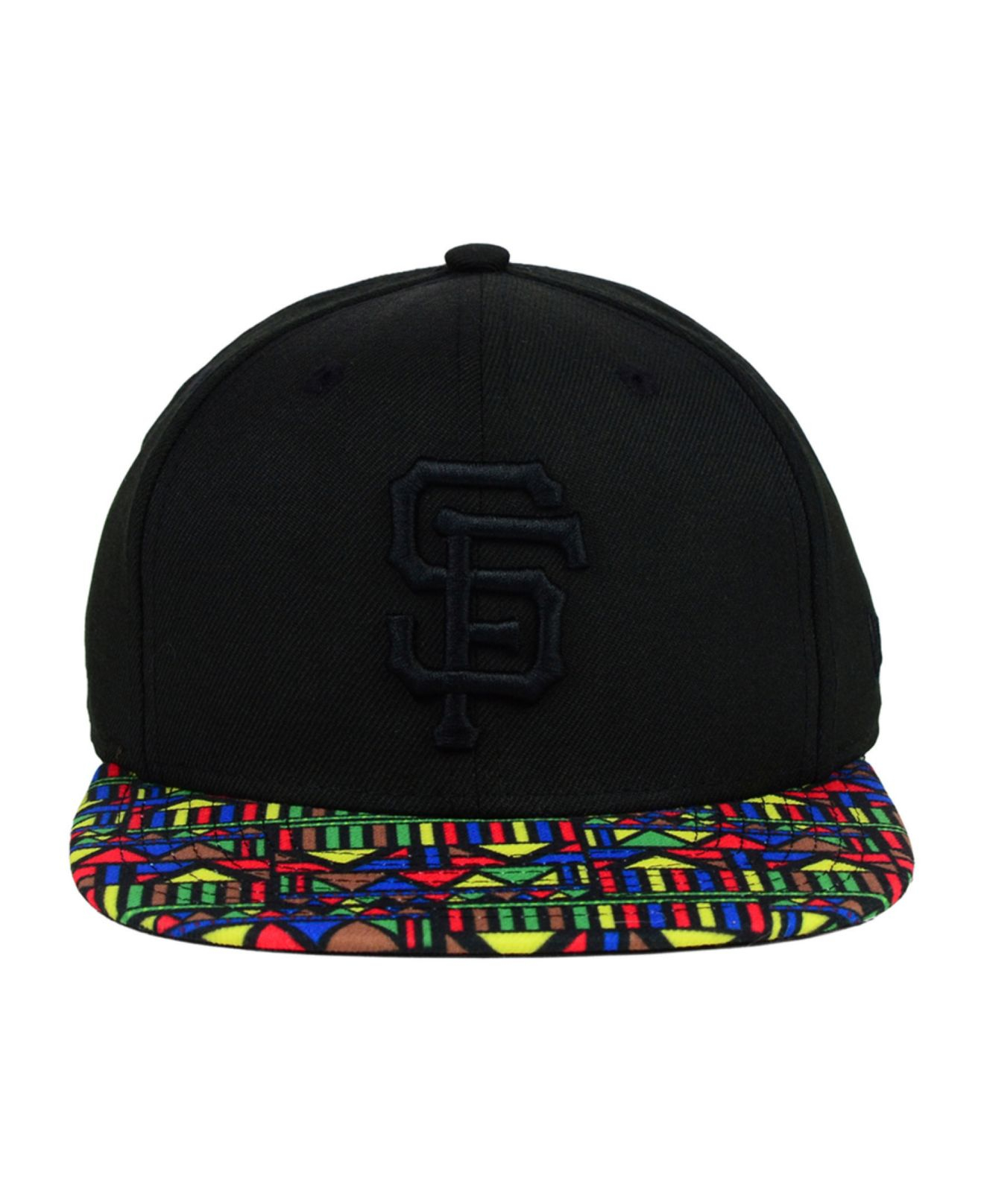 buy online 68da3 13997 KTZ San Francisco Giants Mlb Viza Hook 9Fifty Snapback Cap in Black ...