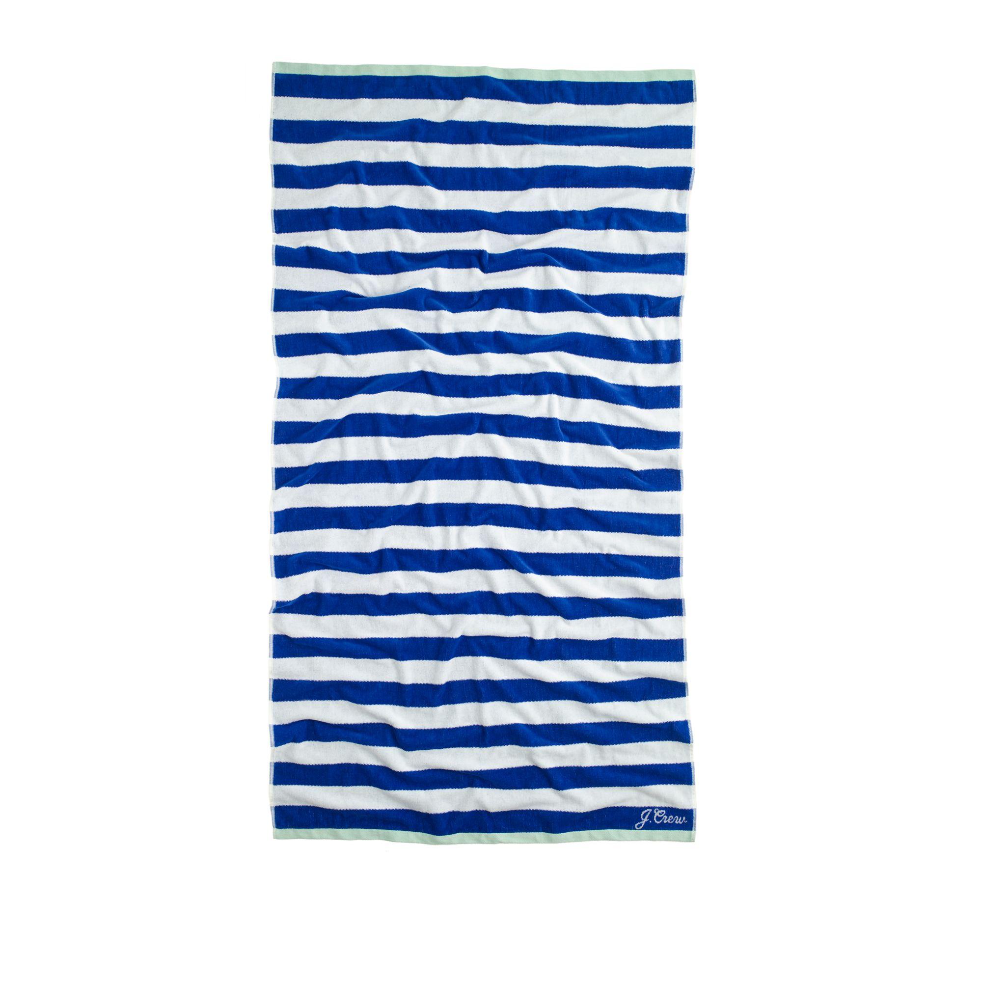 Beach Towel In Blue Lyst