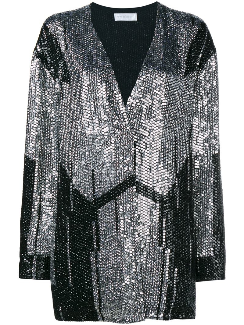 Shop sequined cardigan sweater at Neiman Marcus, where you will find free shipping on the latest in fashion from top designers. Available in Black, Blue, White. Brunello Cucinelli Mohair-Blend Plaid-Sequin Cardigan Details Brunello Cucinelli mohair-blend cardigan with sequined-plaid detailing. Open front; button closure. 3/4 sleeves.