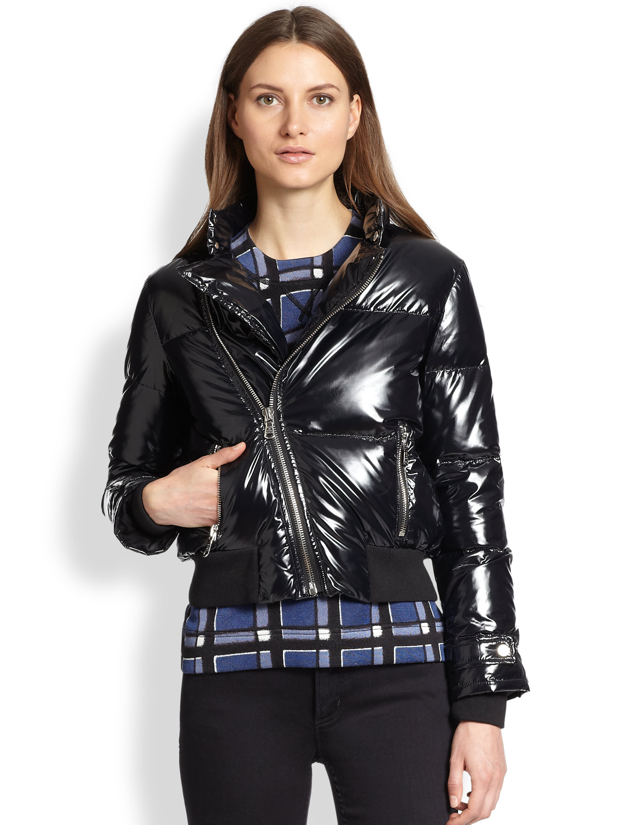 Burberry Brit Diamond Quilted Jacket Burberry Diamond