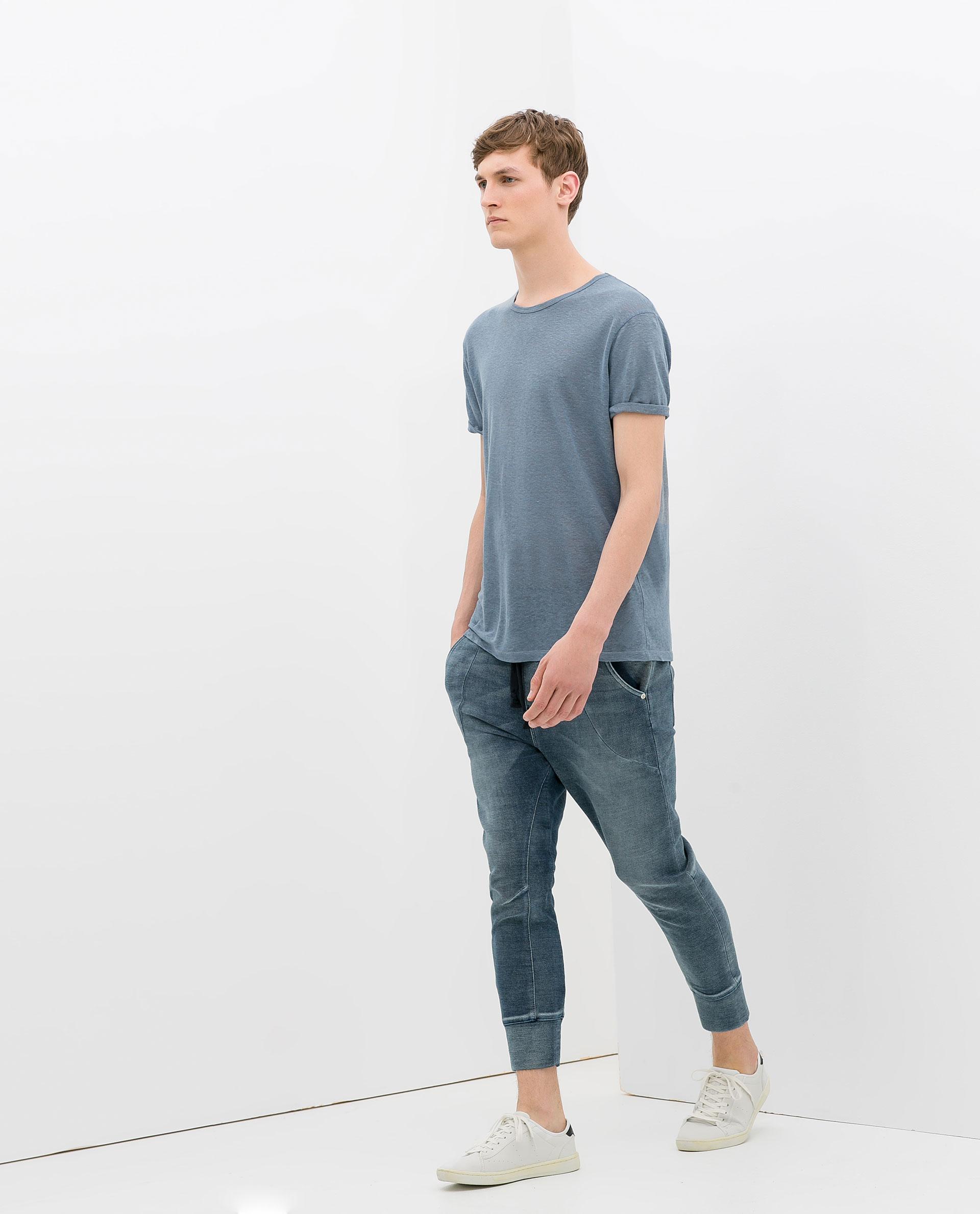 Brilliant Zara Baggy Jogging Pants  Polyvore