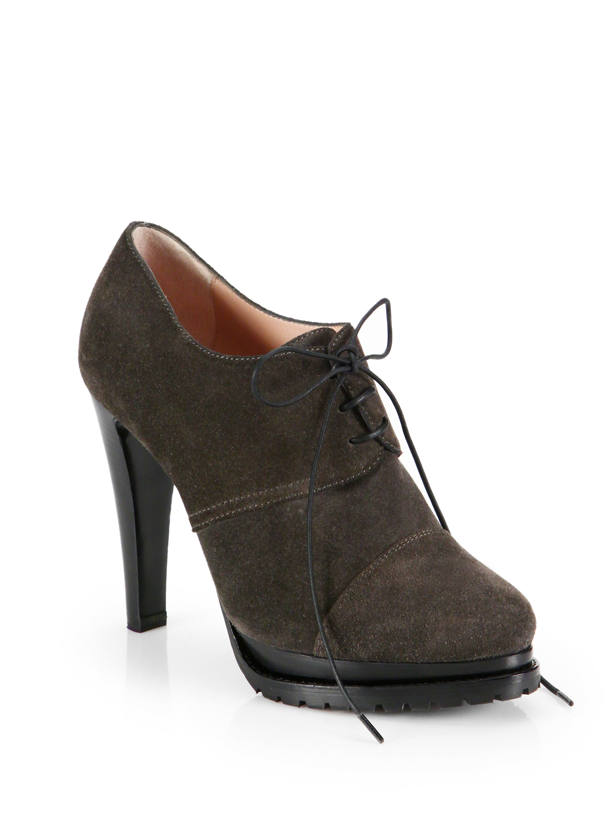 Armani Suede Ankle Boots