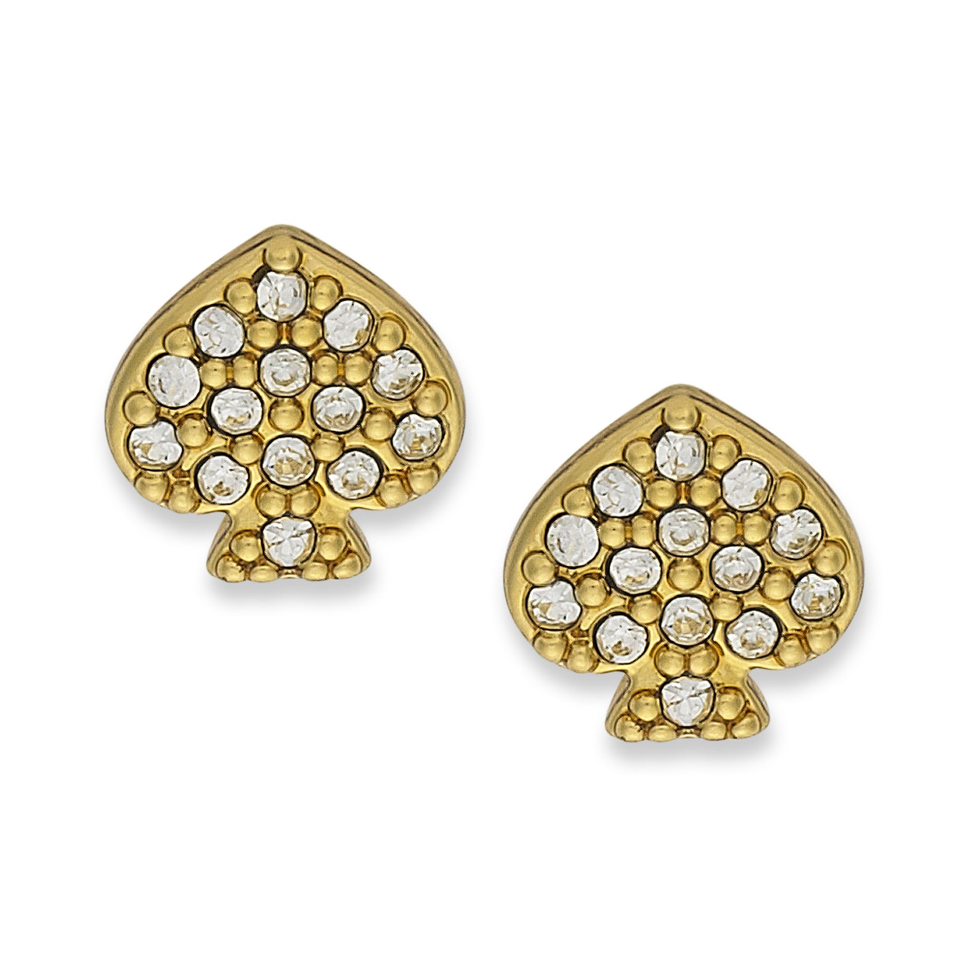 kate spade new york earrings 12k goldplated