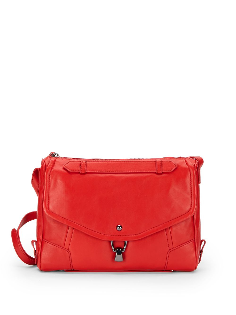 kooba leather convertible crossbody bag in lyst