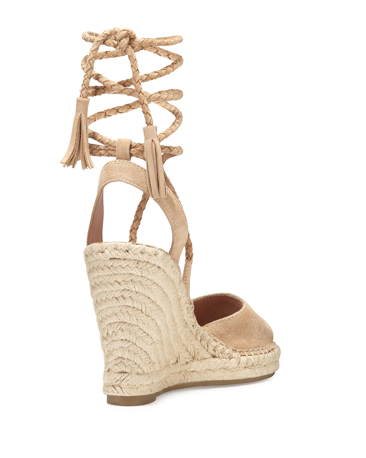 751f2bef653 Lyst - Joie Phyllis Suede Wedge Espadrilles in Natural
