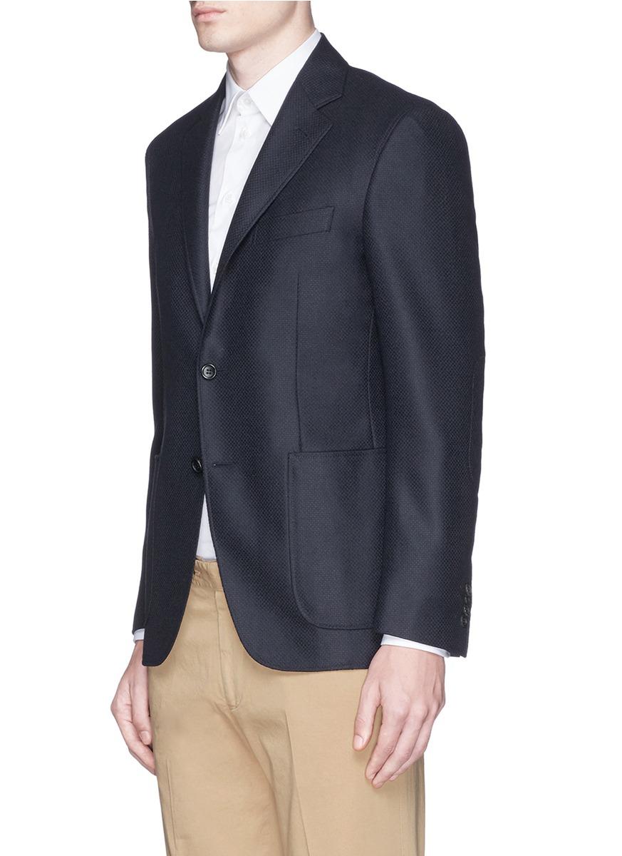 Wool Cashmere Blazer