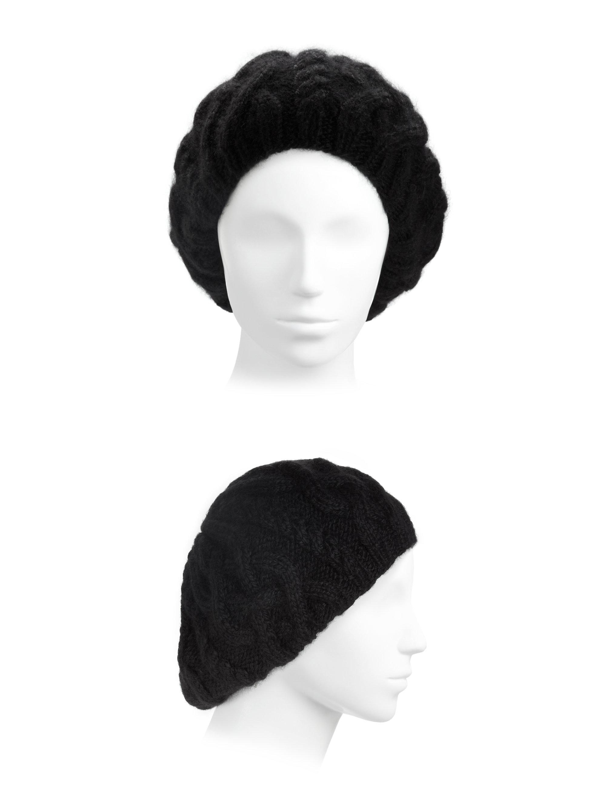 45302123391c9 Lyst - Eugenia Kim Jamie Alpaca Beret in Black