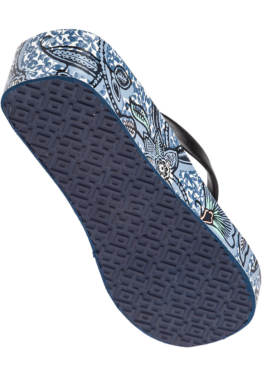 Gallery - Tory Burch Thandie Wedge Flip Flops In Black Lyst