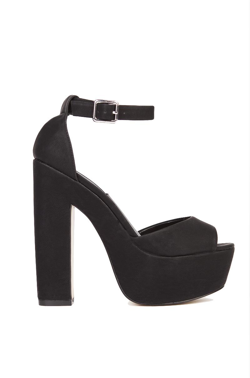 Carvela black strap heels size 41 - 1 part 8