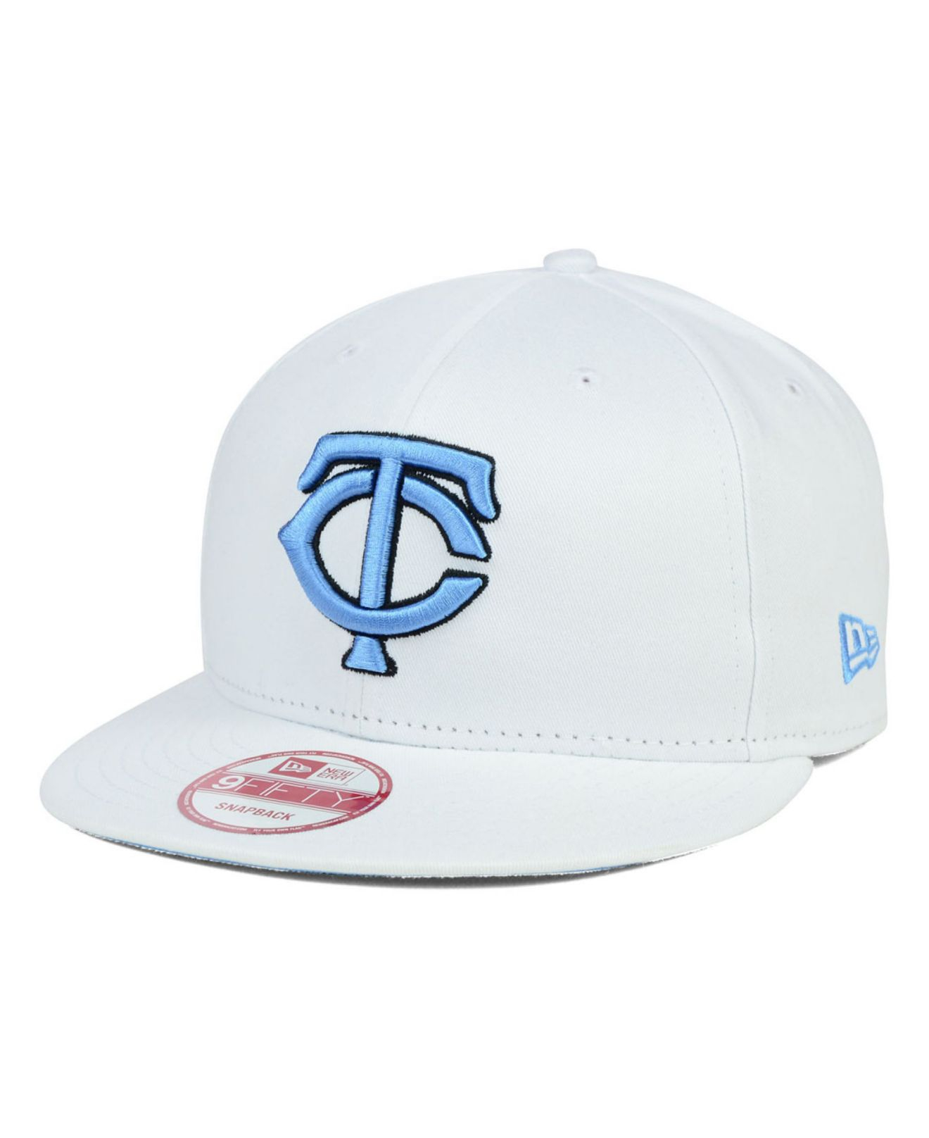 e38286c281858 ... where can i buy lyst ktz minnesota twins legend blue hook 9fifty  snapback cap in white