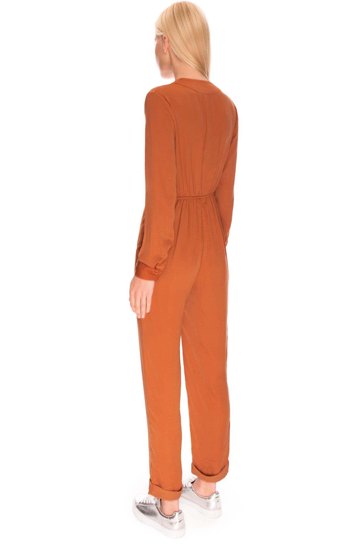9fb5d8fe236 Lyst - The Fifth Label Stay Awhile Jumpsuit in Orange