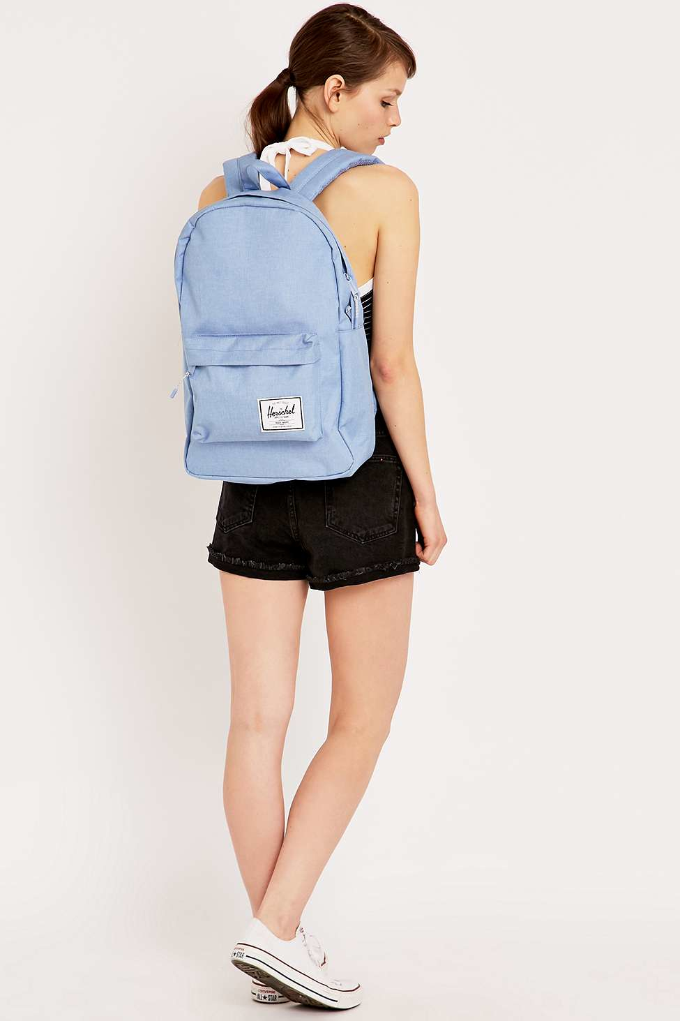f6f0b15cf3 Herschel Supply Co. Chambray Classic Backpack in Blue - Lyst