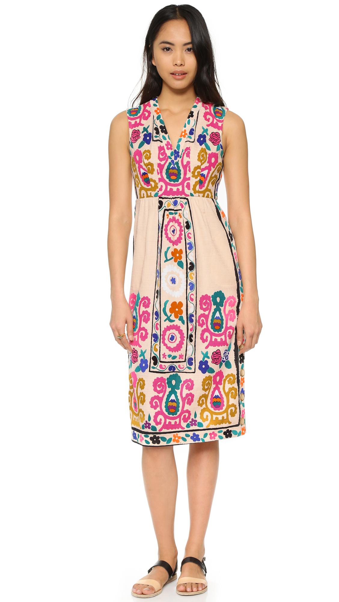 de1d9df7c08 Lyst - Plenty By Tracy Reese Midi Dress