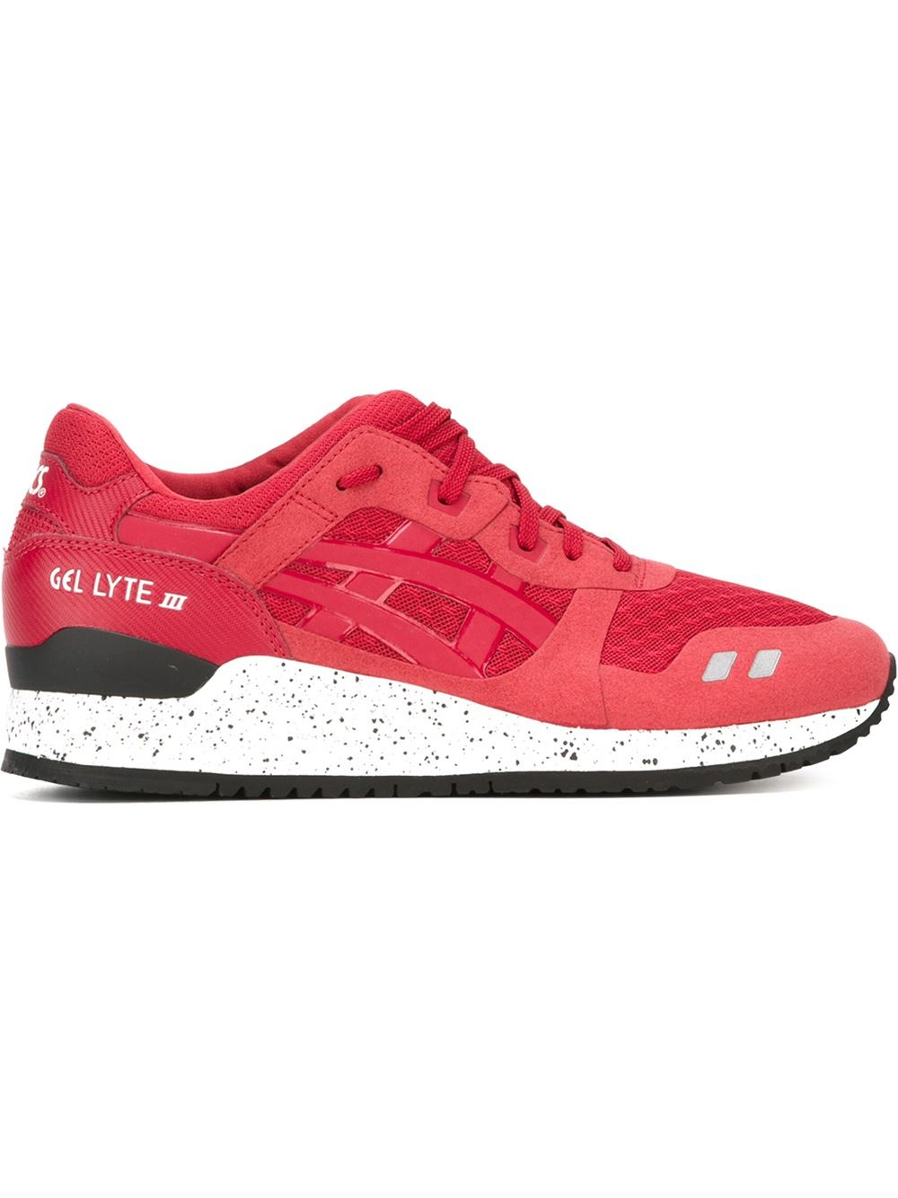 asics lace up sneakers in red for men lyst. Black Bedroom Furniture Sets. Home Design Ideas