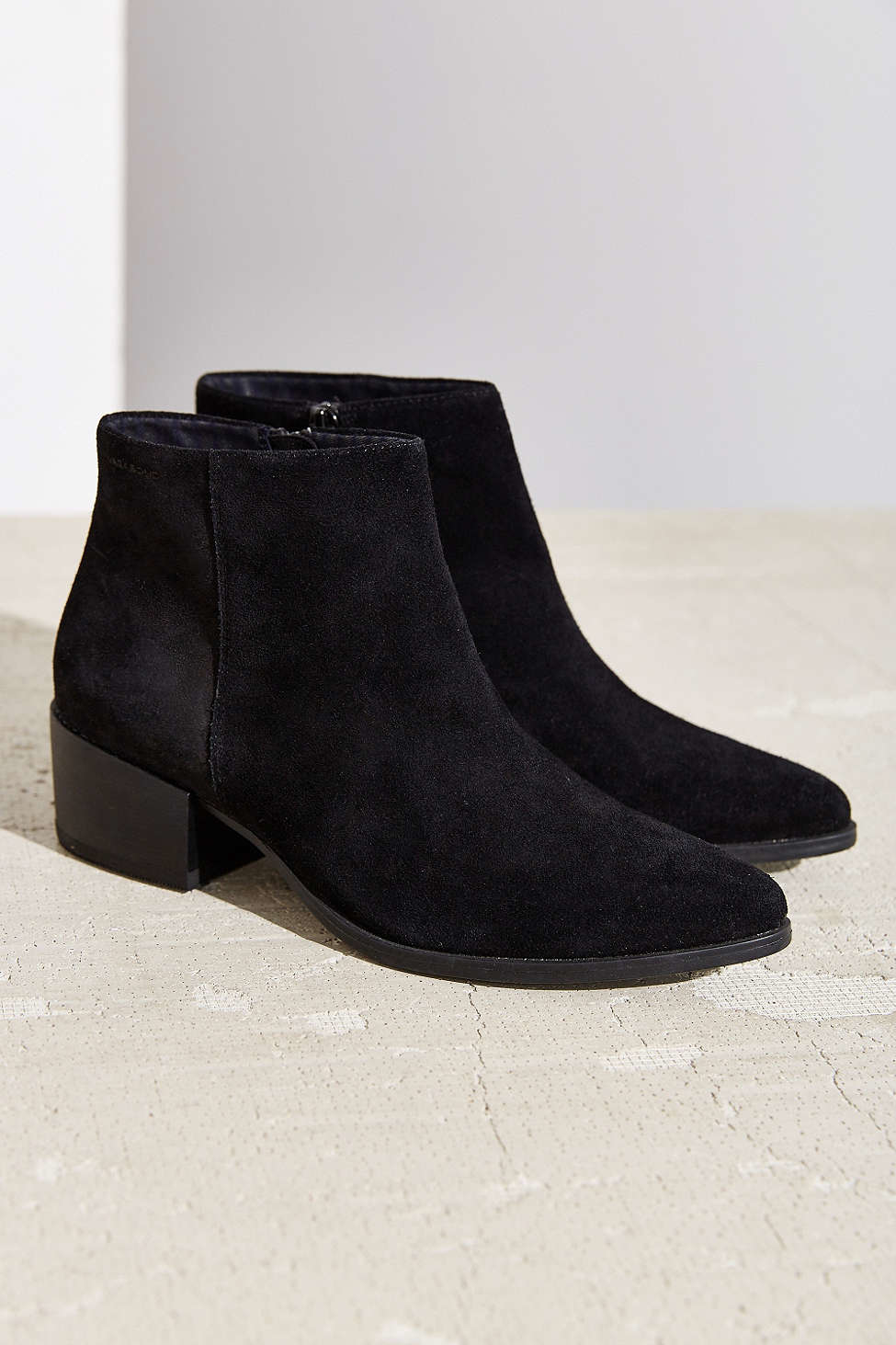 vagabond marja ankle boot in black lyst
