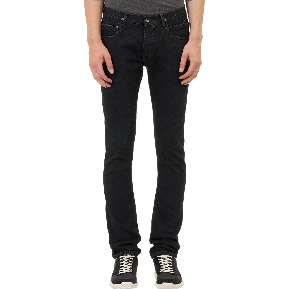1f06379888844 DRKSHDW by Rick Owens Detroit Cut Jeans in Black for Men - Lyst