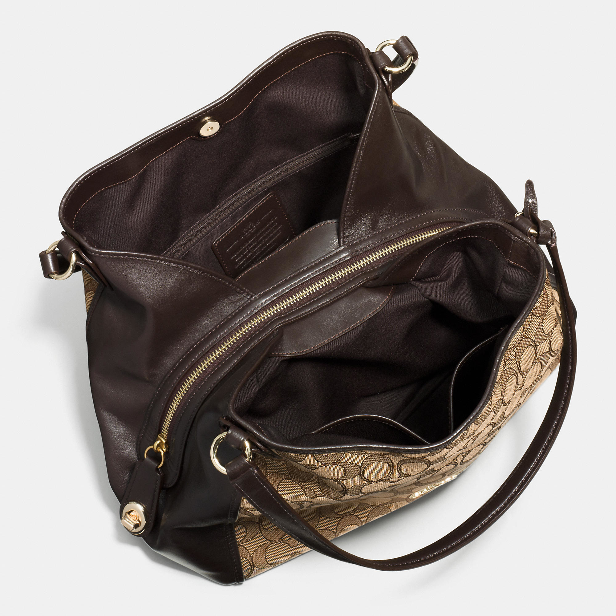 ... release date lyst coach edie shoulder bag 31 in signature jacquard  c089d c6d57 fbca48c1b79cf