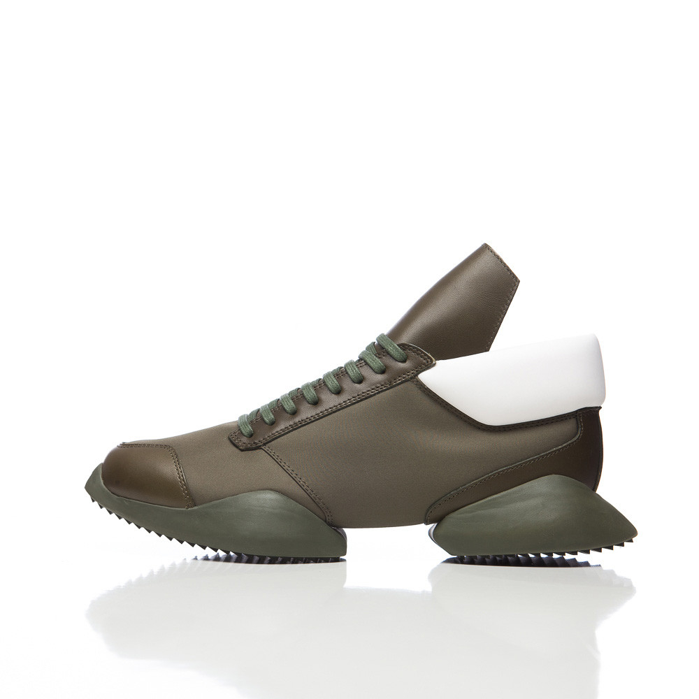 e4a94f4addeb Lyst - Rick Owens X Rick Owens Runner In Earth Green in Green for Men