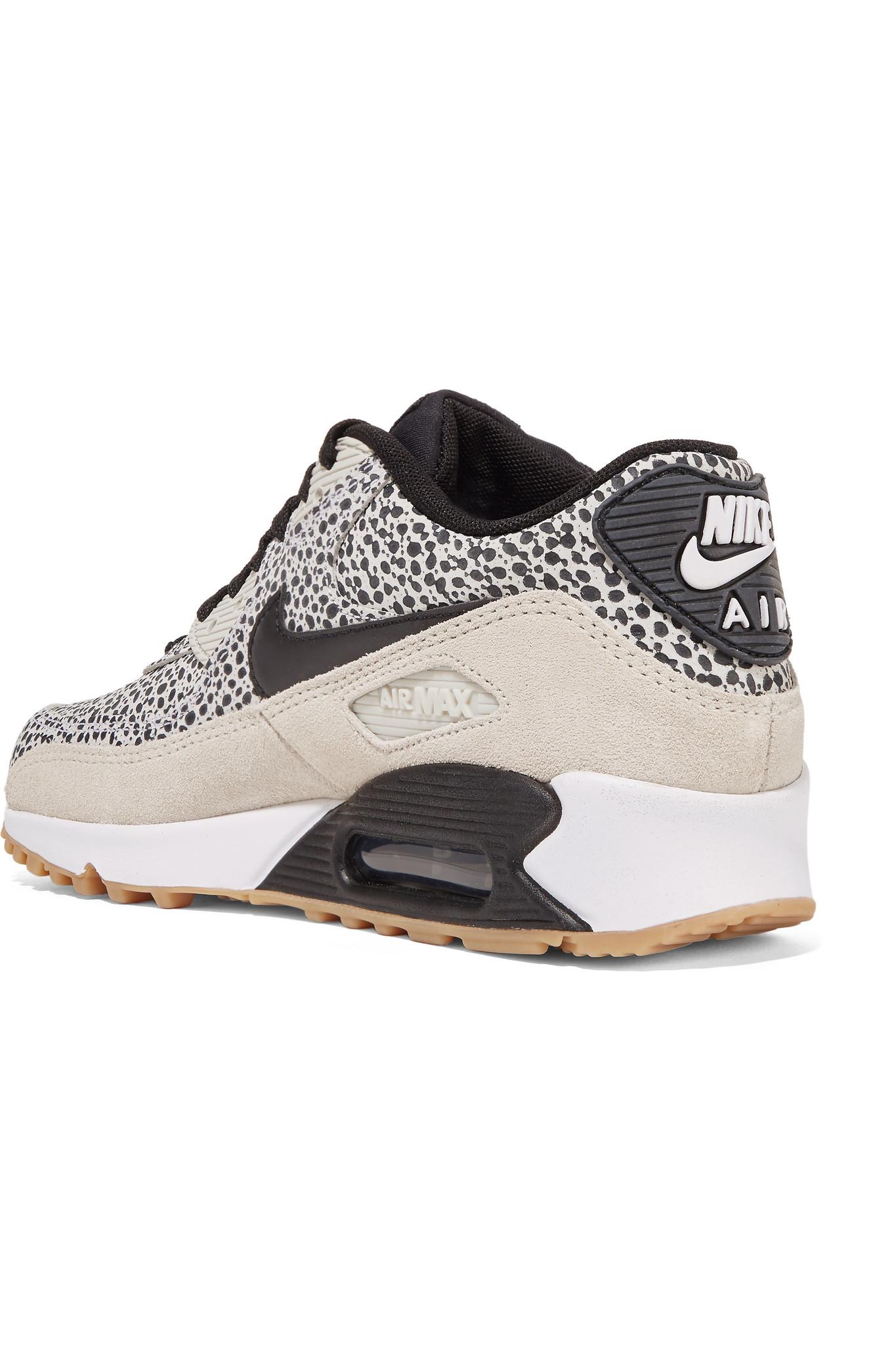 Nike Chaussures De Sport Haut De Gamme En Cuir Air Max