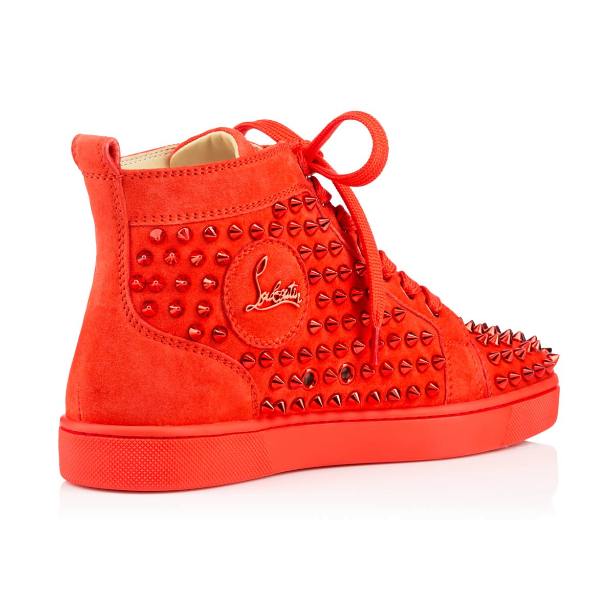 christian louboutin louis spikes red
