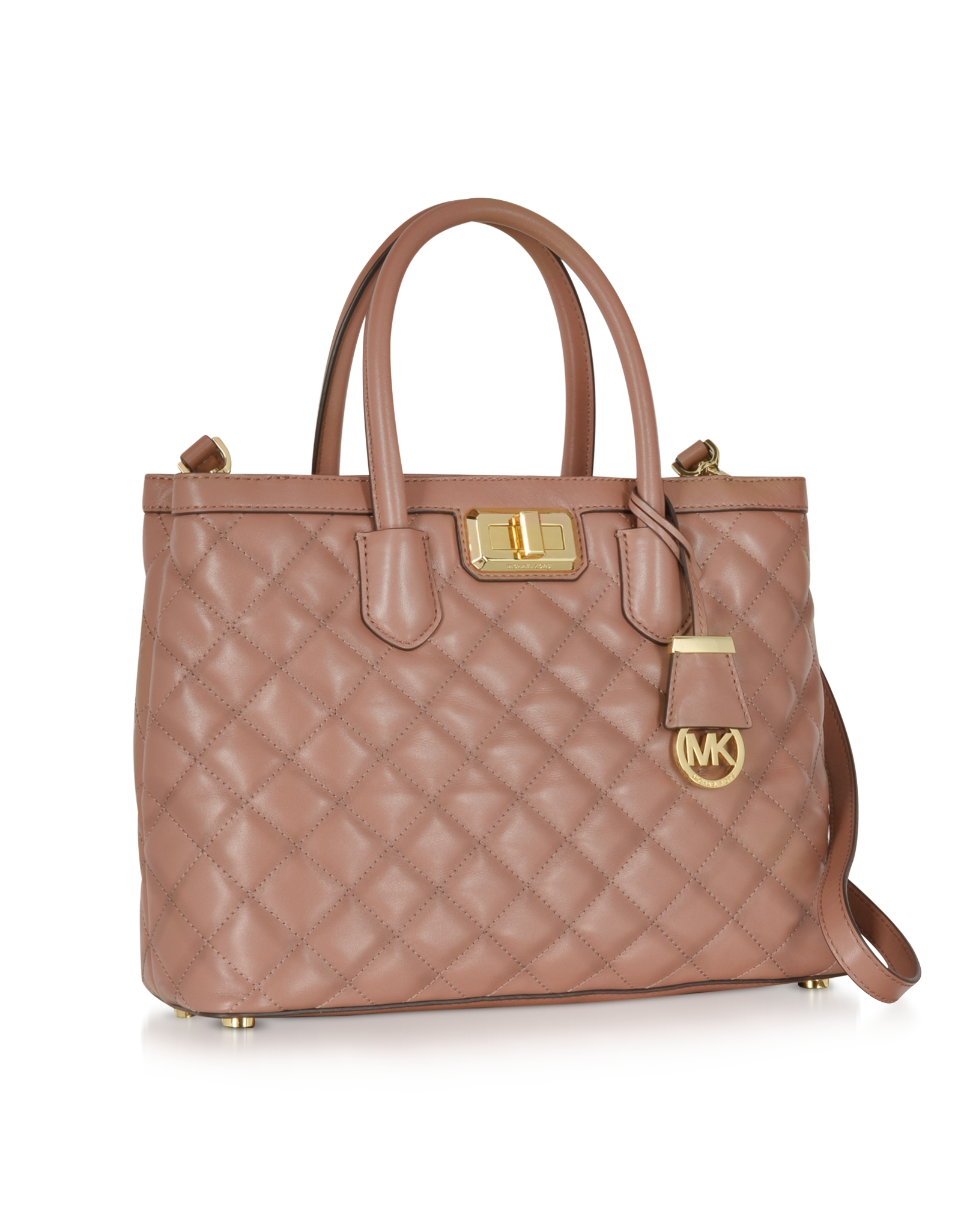 Michael Michael Kors Large Sloan Quilted Chain Shoulder