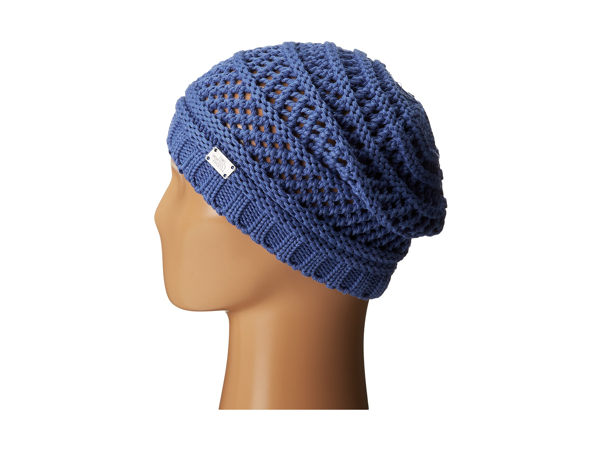 Lyst - The North Face Back Pocket Beanie in Blue 98bb32c7c01