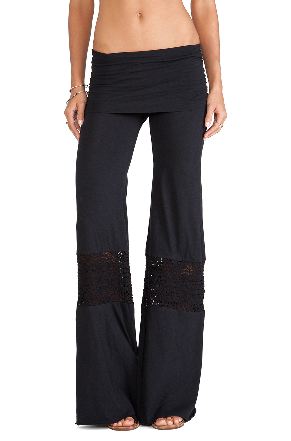 Crochet Pants : Nightcap Crochet Beach Pants in Black Lyst