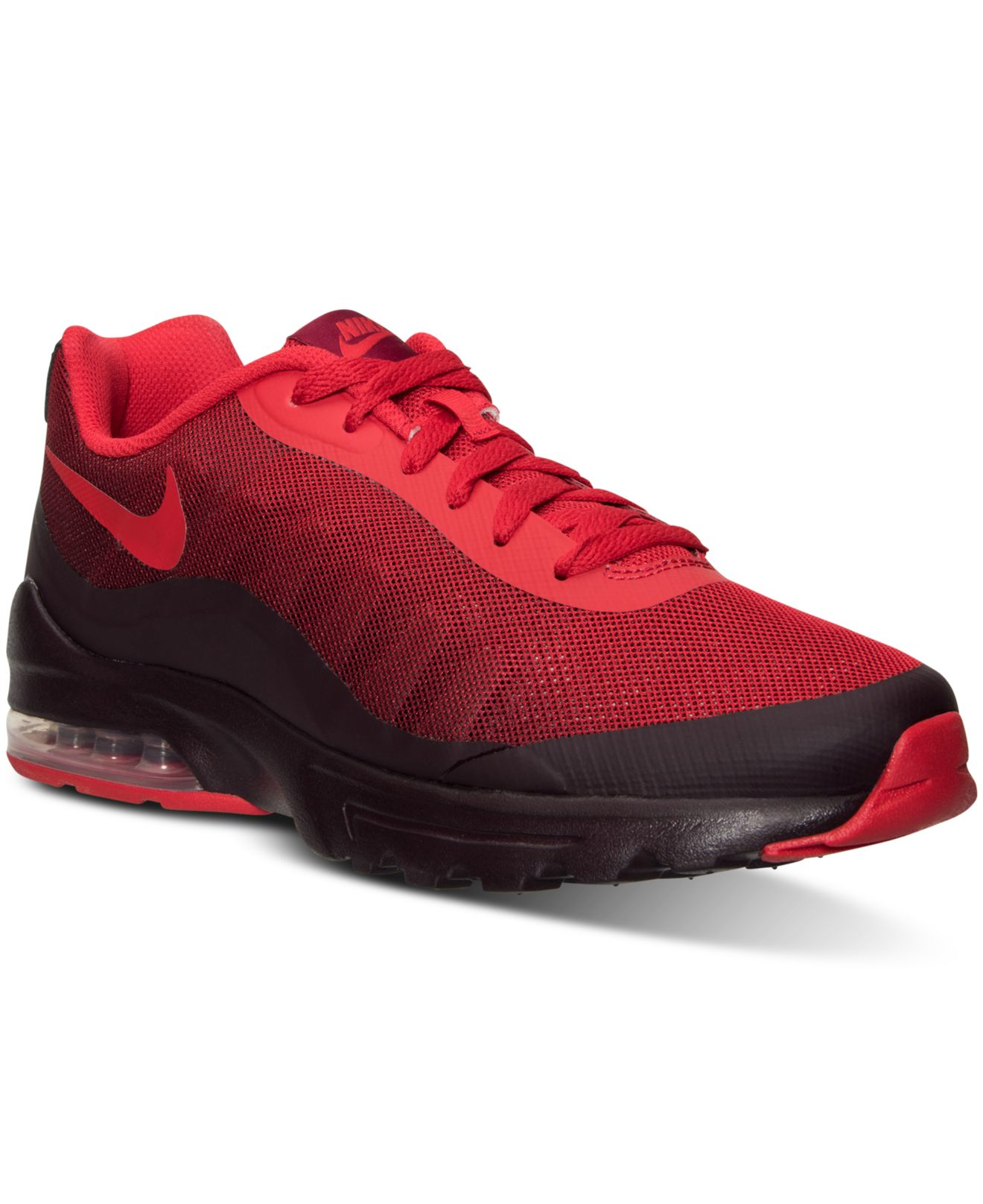 low priced 84158 f9f91 Nike Men s Air Max Invigor Print Running Sneakers From Finish Line ...