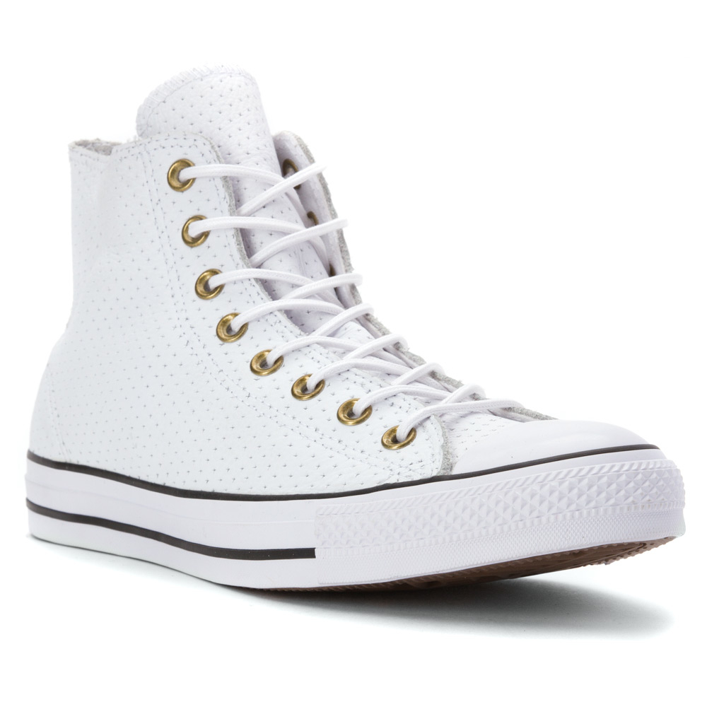 08b7cf858737 Lyst - Converse Chuck Taylor All Star High Top Perf Leather Sneaker ...